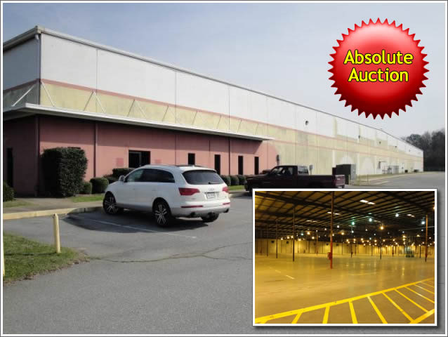 Absolute AL - 150,000+/-sf Warehouse Distribution Facility
