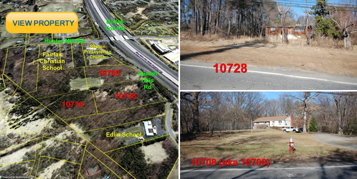 18+ Acres in Reston VA Location! Development Potential!