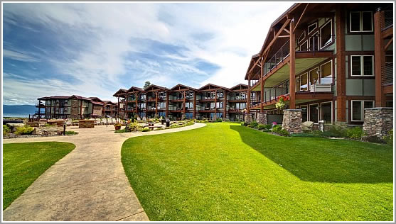 12 Premier Waterfront Condominiums Overlooking Beautiful Flathead Lake